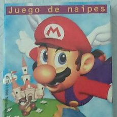 Barajas de cartas: BARAJA DE CARTAS - SUPER MARIO 64. Lote 54011295