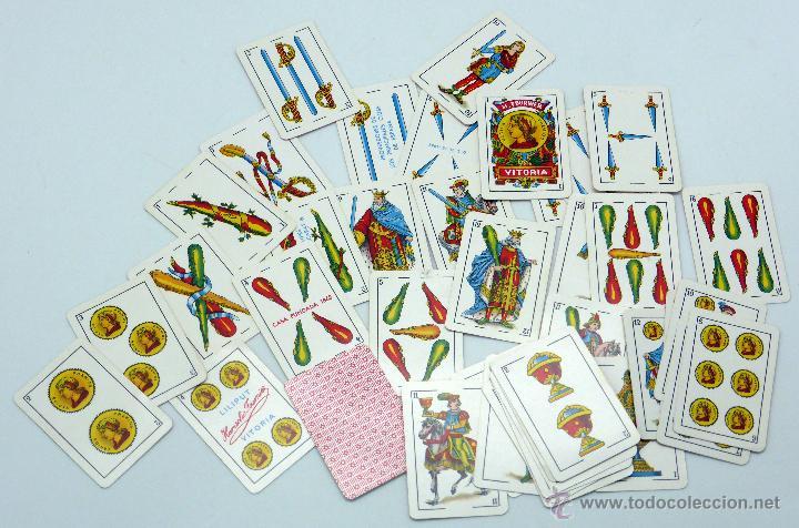 BARAJA LILIPUT HERACLIO FOURNIER 40 CARTAS COMPLETA SIN CAJA (Juguetes y Juegos - Cartas y Naipes - Otras Barajas)