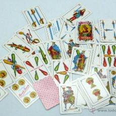 Barajas de cartas: BARAJA LILIPUT HERACLIO FOURNIER 40 CARTAS COMPLETA SIN CAJA. Lote 54027126