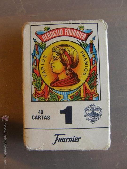 BARAJA DE HERACLIO FOURNIER. Nº 1 (Juguetes y Juegos - Cartas y Naipes - Baraja Española)