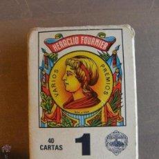 Barajas de cartas: BARAJA DE HERACLIO FOURNIER. Nº 1. Lote 54044575