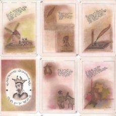 Barajas de cartas: BARAJA ESPAÑOLA EL QUIJOTE EN LOS NAIPES-NOVEDAD. Lote 133053349