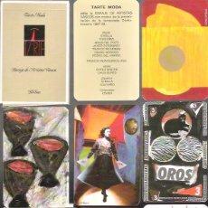 Barajas de cartas: BARAJA DE ARTISTAS VASCOS, EDITADA POR TARTE MODA, BILBAO 1987, 40 CARTAS, EN ESTUCHE SIN ESTRENAR. Lote 59534785