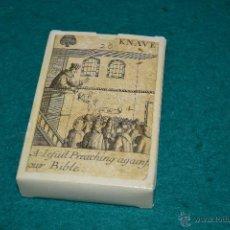 Barajas de cartas: BARAJA REVOLUCION ISLAS BRITANICAS SIGLO XVII CENTURY 1689 . Lote 54080504