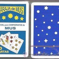 Barajas de cartas: BARAJA ESPECIAL PARA CAMPEONATOS DE MUS, 40 CARTAS. PRECINTADA.. Lote 54090686