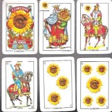 Barajas de cartas: BARAJA CORONIL, SEMILLAS PIONER, LOS OROS SON ESPECIALES. NAIPES COMAS, 40 CARTAS.. Lote 169246473
