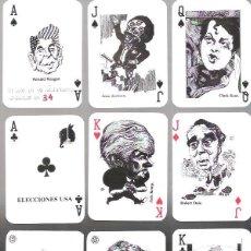 Barajas de cartas: BARAJA ELECCIONES PRESIDENCIALES U.S.A. 1988, 36 + 1 COMODIN, TIRADA DE 50 EJEMPLARES, Nº 24. Lote 207105287