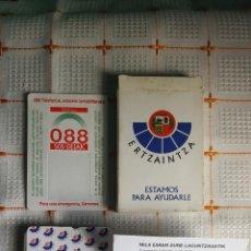Barajas de cartas: BARAJA ERTZAINTZA. Lote 54182323