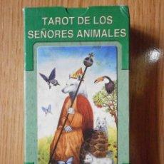 Barajas de cartas: BARAJA DE CARTAS DE TAROT DE LOS SEÑORES ANIMALES BARAJACARTAS-184. Lote 167794725