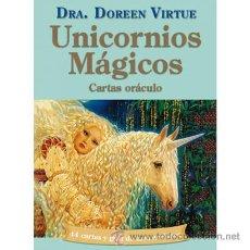 Barajas de cartas: ORACULO UNICORNIOS MAGICOS - DOREEN VIRTUE (LIBRO + CARTAS) - NUEVO PRECINTADO. Lote 54269680
