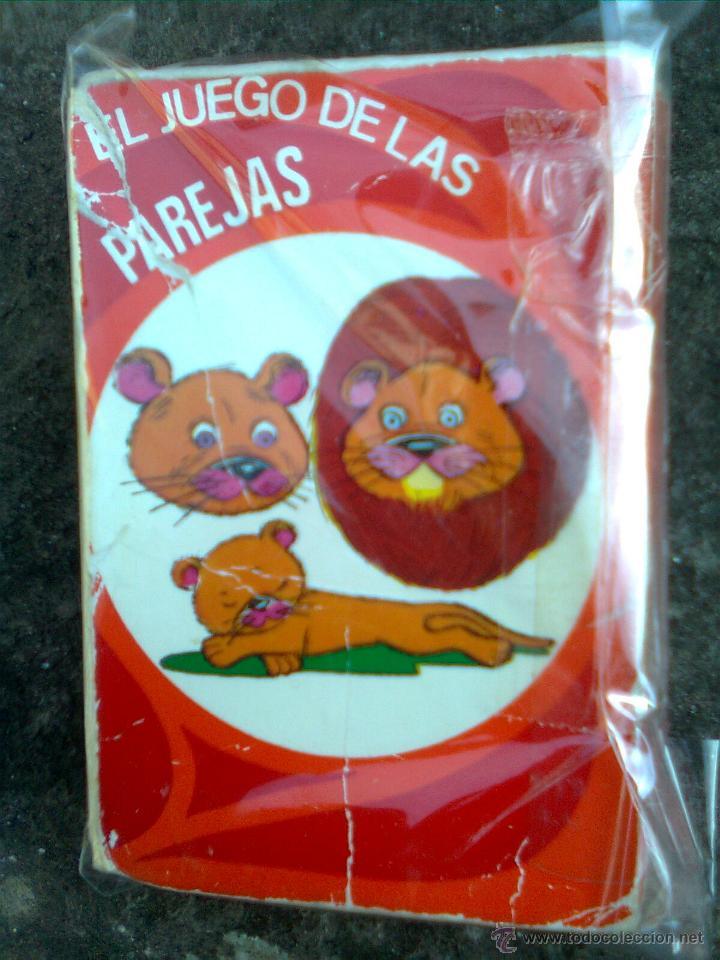BARAJA EL JUEGO DE LAS PAREJAS (EDICIONES RECREATIVAS 60´S) - JUGADA PERO COMPLETA (Juguetes y Juegos - Cartas y Naipes - Barajas Infantiles)
