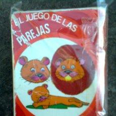 Barajas de cartas: BARAJA EL JUEGO DE LAS PAREJAS (EDICIONES RECREATIVAS 60´S) - JUGADA PERO COMPLETA. Lote 54349934