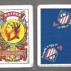 Barajas de cartas: BARAJA ESPAÑOLA 40 CARTAS CLUB ATLETICO DE MADRID, AS ESPECIAL, PRECINTADA.. Lote 87626030