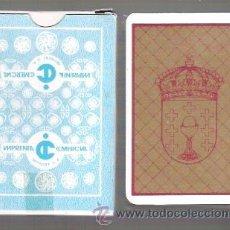 Barajas de cartas: BARAJA GALLEGA, BARALLA GALEGA, AÑOS 80. IMPRENTA COMERCIAL EN ESTUCHE DE CARTON.. Lote 139134042