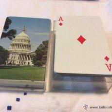 Barajas de cartas: VINTAGE BARAJA DE CARTAS DE POKER -THE US PLAYING CARD CO.CINCINATI U.S.A . Lote 54399412