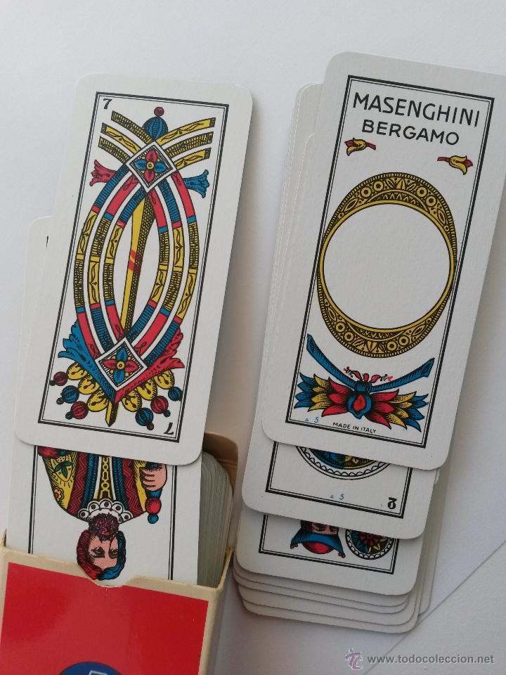 BARAJA ITALIANA ,MASENGHINI BERGAMO ,VANETE N. 16 (Juguetes y Juegos - Cartas y Naipes - Baraja Española)