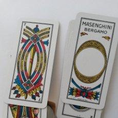 Barajas de cartas: BARAJA ITALIANA ,MASENGHINI BERGAMO ,VANETE N. 16. Lote 54422962