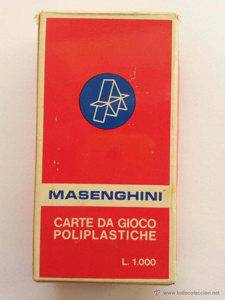 Barajas de cartas: Baraja italiana ,masenghini bergamo ,vanete n. 16 - Foto 2 - 54422962