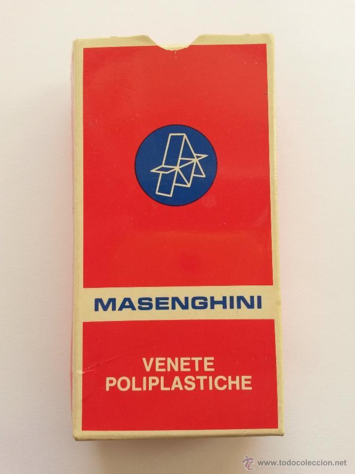 Barajas de cartas: Baraja italiana ,masenghini bergamo ,vanete n. 16 - Foto 3 - 54422962