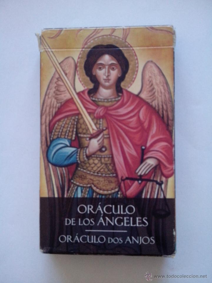CARTAS DEL TAROT ORÁCULO DE LOS ÁNGELES (Juguetes y Juegos - Cartas y Naipes - Barajas Tarot)