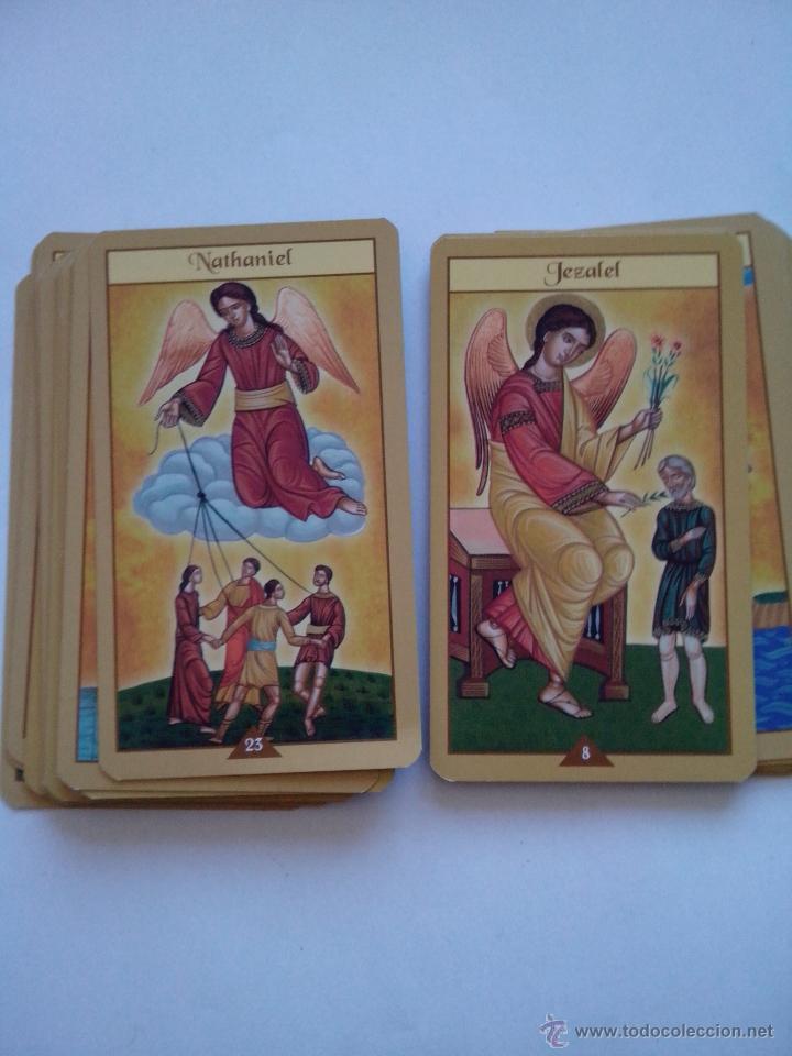 Barajas de cartas: Cartas del Tarot Oráculo de los Ángeles - Foto 3 - 54466791