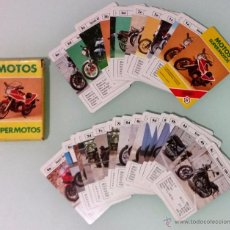 Jeux de cartes: BARAJA FOURNIER, MOTOS SUPER MOTOS ---COMPLETA---. Lote 184533216