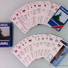 Barajas de cartas: BARAJA FOURNIER, FUERZA NAVAL ---COMPLETA---. Lote 54521339