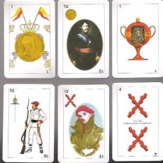 Barajas de cartas: BARAJA CARLISTA, NAIPES COMAS, 40 CARTAS, SIN ESTRENAR EN SU ESTUCHE DE CARTON ORIGINAL.. Lote 111857295