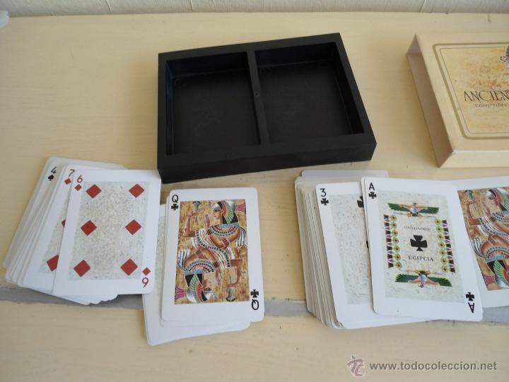 Barajas de cartas: BARAJA ANCIENT CIVILISATIONS - HERACLIO FOURNIER - VITORIA - 2 JUEGO COMPLETOS DE CARTAS - NUEVAS - Foto 2 - 141686744