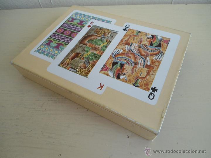 Barajas de cartas: BARAJA ANCIENT CIVILISATIONS - HERACLIO FOURNIER - VITORIA - 2 JUEGO COMPLETOS DE CARTAS - NUEVAS - Foto 6 - 141686744
