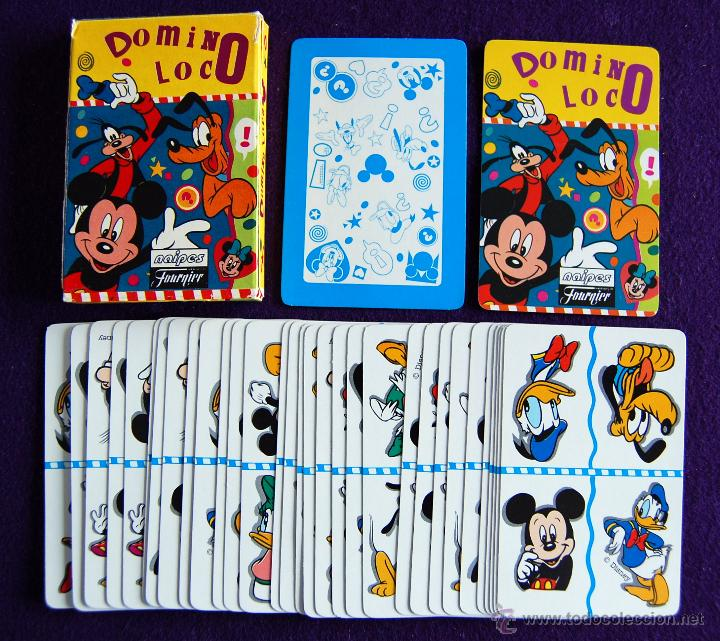 BARAJA INFANTIL FOURNIER. DOMINO LOCO. SIN USAR. 33 CARTAS. 1995. (Juguetes y Juegos - Cartas y Naipes - Barajas Infantiles)