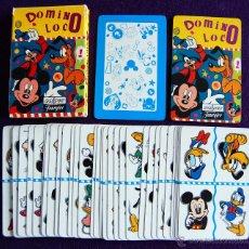 Barajas de cartas: BARAJA INFANTIL FOURNIER. DOMINO LOCO. SIN USAR. 33 CARTAS. 1995. . Lote 54541266