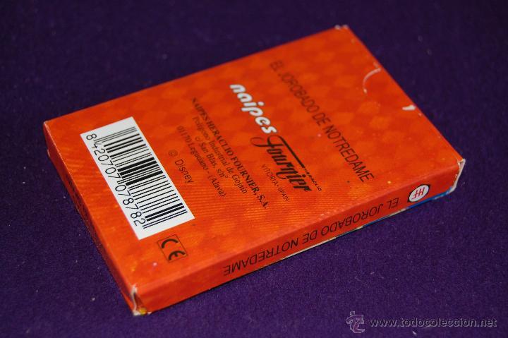 Barajas de cartas: BARAJA INFANTIL FOURNIER. EL JOROBADO DE NOTRE DAME. SIN USAR. COMPLETA. 33 CARTAS. 1996 - Foto 4 - 54542697