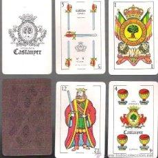 Barajas de cartas: BARAJA HERALDICA CASTANYER Nº 6, SIN USAR, 48 CARTAS + 2 COMODINES.. Lote 54544668