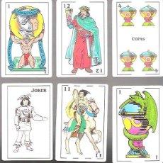 Barajas de cartas: BARAJA MAS REYNALS, 48 CARTAS + 2 COMODINES, PRECINTADA. ILUST. V. MAZA, DISEÑO M. MALE. Lote 173554120