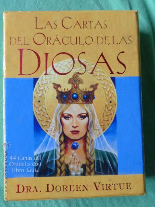 Barajas de cartas: Las cartas del Oráculo de las Diosas. Libro + Cartas-Dra. Doreen Virtue - 44 CARTAS CON LIBRO GUÍA. - Foto 2 - 54549361