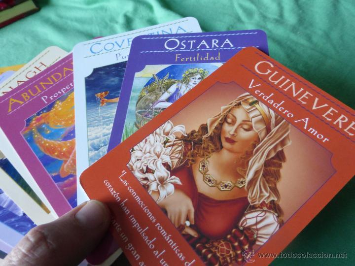 Barajas de cartas: Las cartas del Oráculo de las Diosas. Libro + Cartas-Dra. Doreen Virtue - 44 CARTAS CON LIBRO GUÍA. - Foto 3 - 54549361
