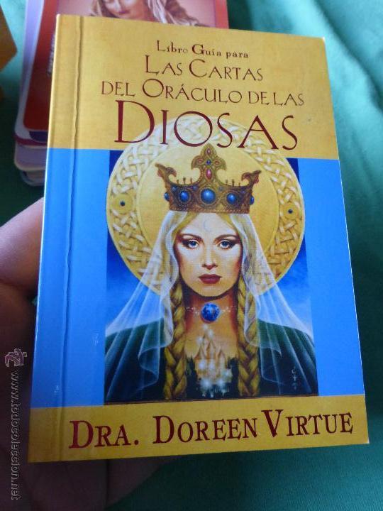 Barajas de cartas: Las cartas del Oráculo de las Diosas. Libro + Cartas-Dra. Doreen Virtue - 44 CARTAS CON LIBRO GUÍA. - Foto 4 - 54549361