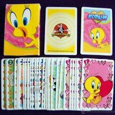 Barajas de cartas: BARAJA INFANTIL FOURNIER. PIOLIN. COMPLETA. 33 CARTAS. . Lote 54555267