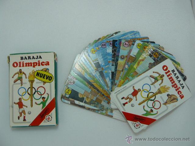 BARAJA DE CARTAS INFANTIL BARAJA OLIMPICA. FOURNIER 1988. COMPLETA (Juguetes y Juegos - Cartas y Naipes - Barajas Infantiles)