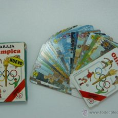 Barajas de cartas: BARAJA DE CARTAS INFANTIL BARAJA OLIMPICA. FOURNIER 1988. COMPLETA. Lote 54568669