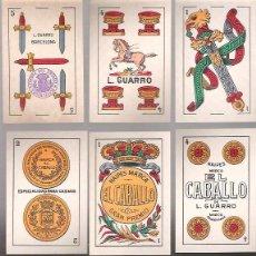 Barajas de cartas: BARAJA EL CABALLO DE L. GUARRO, 40 CARTAS PRECINTADA SIN ESTRENAR EN SU ENVOLTORIO ORIGINAL.. Lote 54571725