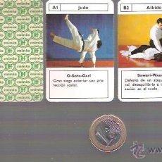 Barajas de cartas: BARAJA MINI DE FOURNIER Nº 8, ARTES MARCIALES. SIN ESTRENAR EN SU CAJITA DE PLASTICO.. Lote 54576839