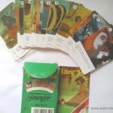 Barajas de cartas: NAIPES EL LIBRO DE LA SELVA, BARAJA INFANTIL Y TRES FIGURAS MC DONALDS AÑOS 90. Lote 67538061
