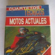 Barajas de cartas: BARAJA DE CARTAS MOTOS ACTUALES, CUARTETOS TECNICOS, 33 CARTAS, DE HERACLIO FOURNIER, HF. CC. Lote 54624241