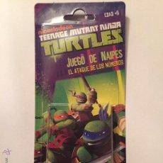Jeux de cartes: BARAJA INFANTILTORTUGAS NINJA MUTANTES JUEGO DE CARTAS HERACLIO FOURNIER.. Lote 54642351