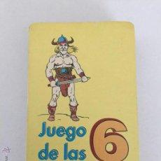 Jeux de cartes: ANTIGUA BARAJA INFANTIL EL JUEGO DE LAS 6 FAMILIAS. Lote 54646185