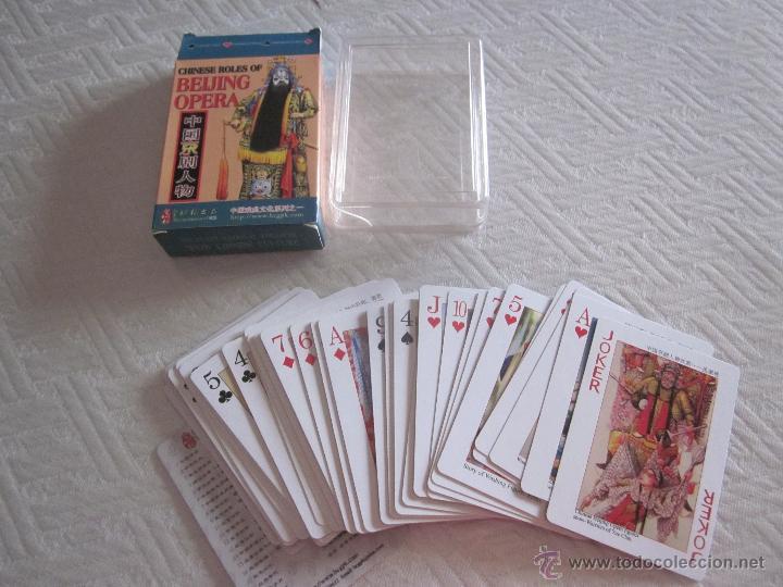 CHINESE ROLES OF BEIJING OPERA (Juguetes y Juegos - Cartas y Naipes - Barajas de Póker)