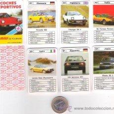 Jeux de cartes: BARAJA MINI DE FOURNIER Nº 1 COCHES DEPORTIVOS, 24 CARTAS + 1, SIN ESTRENAR EN SU ESTUCHE DE PLASTIC. Lote 72287070