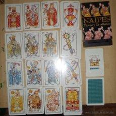 Barajas de cartas: BARAJA DE CARTAS MOROS Y CRISTIANOS ALICANTE 50 NAIPES EN SU CAJA CARTAS EXCLUSIVAS . Lote 54713200